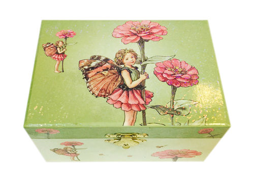 Music Box Fairy Zinia - Flower Fairies