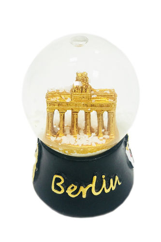 Snowglobe - black - medium sized