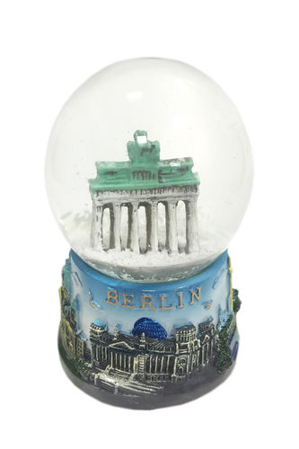 Snowglobe - blue - medium sized