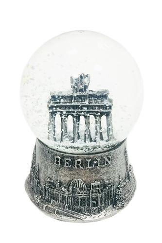 Snowglobe - silver - medium sized