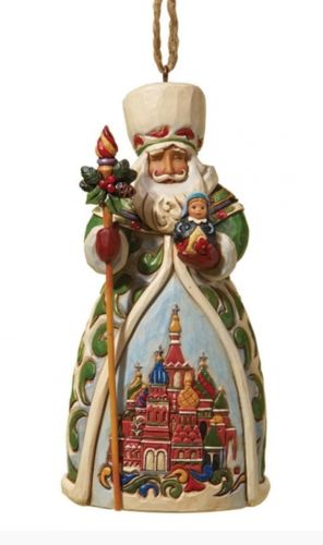 Russian Santa - Hanging Ornament