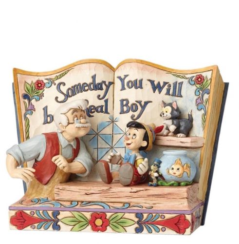 Someday You Will Be A Real Boy (Story Book Pinocchio)